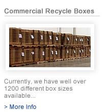 commercial recycle boxes